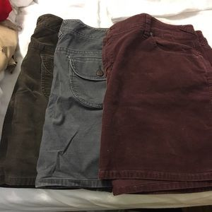 Old Navy Corduory Skirts